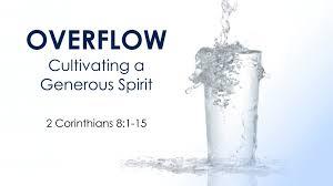2 Corinthians 8 1-15