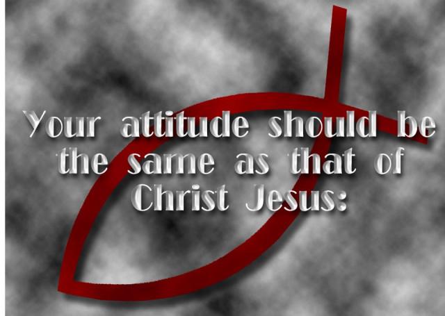 attitude-Christ